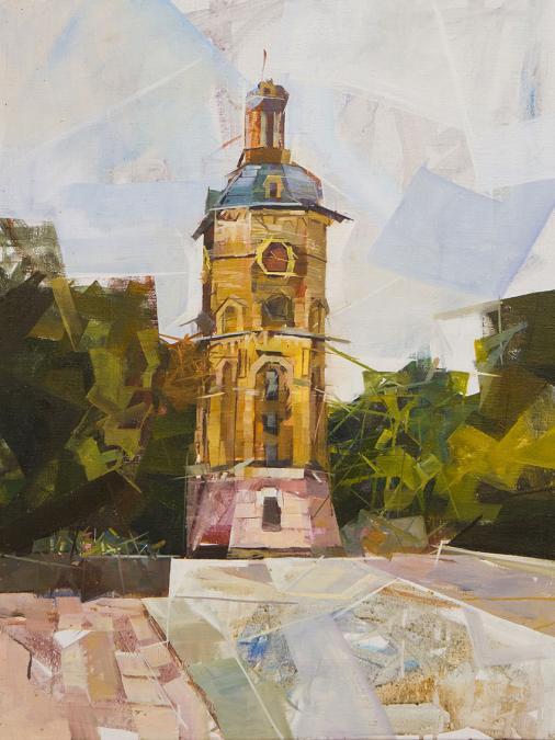 006 Evgen Shapovalov. Canvas, oil