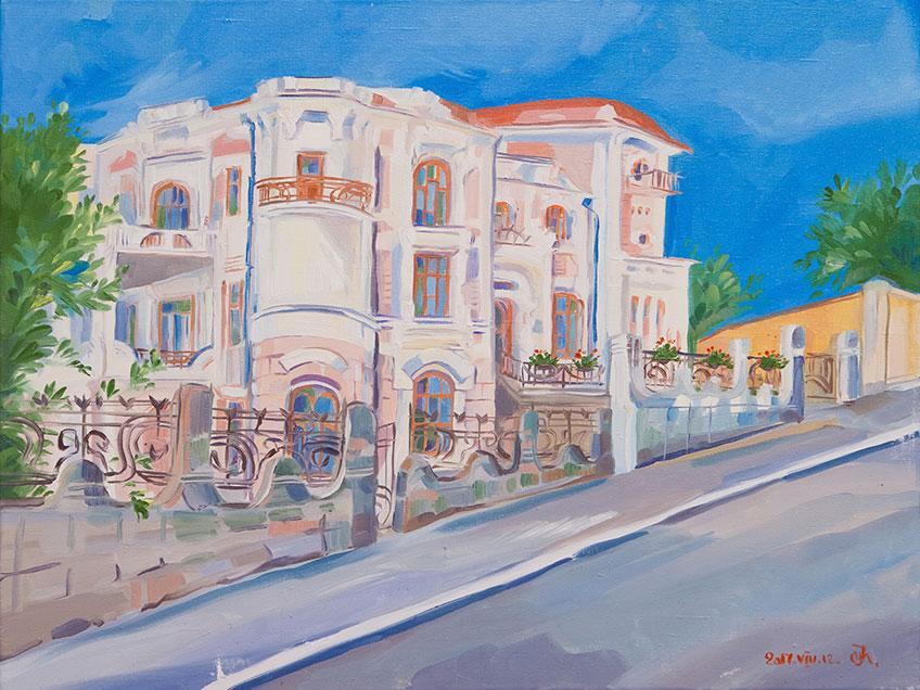 008 Iryna Prokopchuk. Canvas, oil