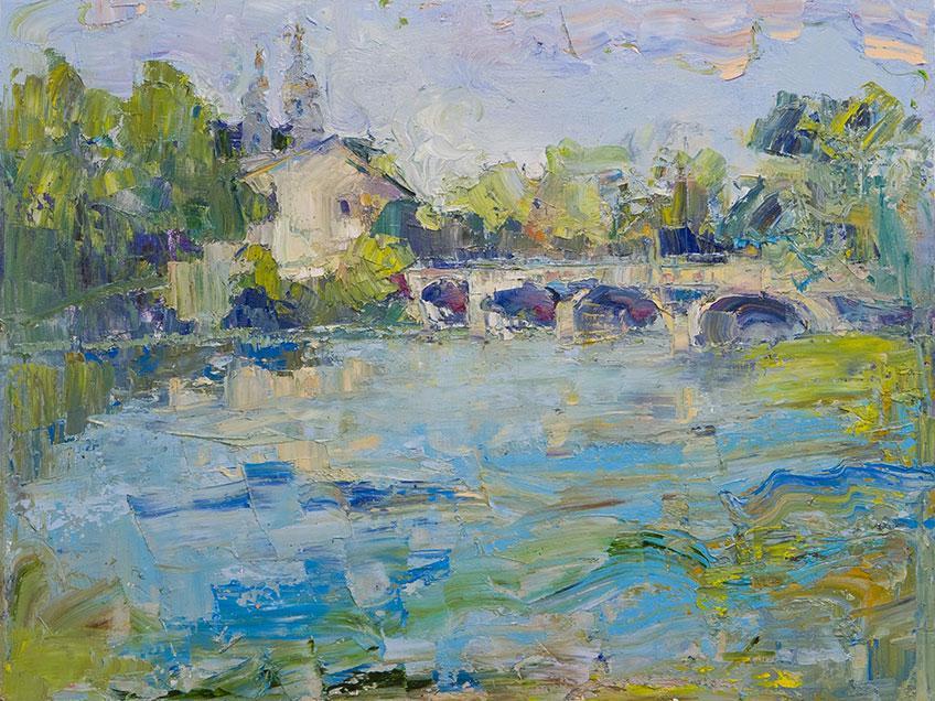 012 Olesya Rybchenko. Canvas, oil
