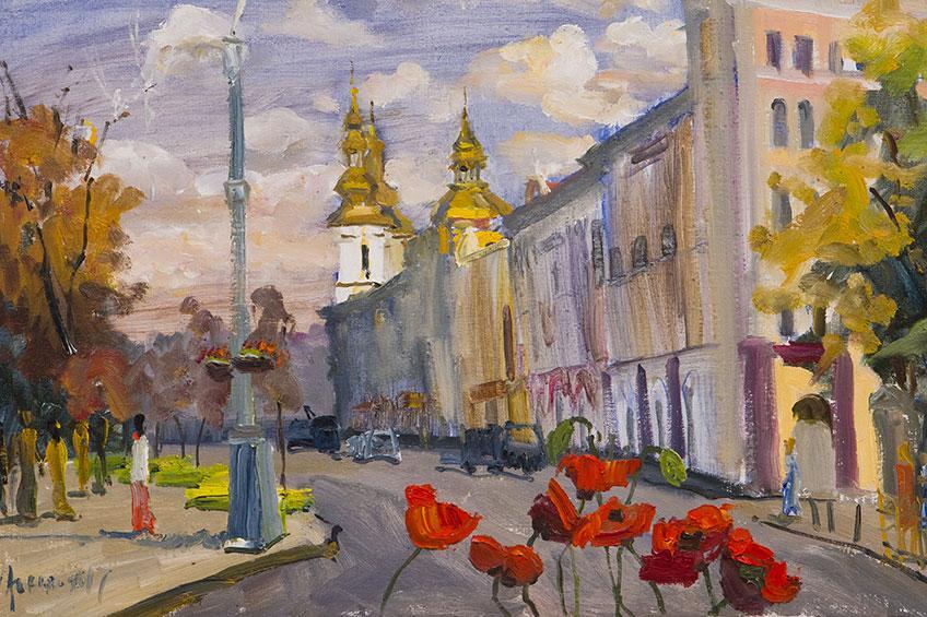 018 Сергій Заєць. Полотно, олія