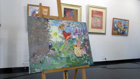 Благодійний аукціон в «Галереї ХХІ» фото картини