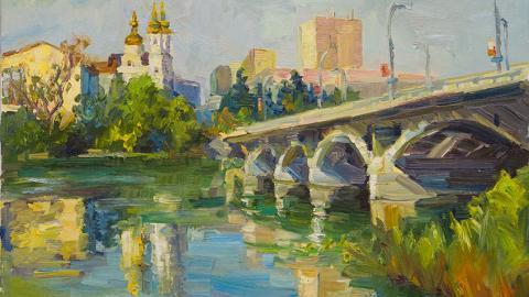 020 Валентина Колтановська. Полотно, олія
