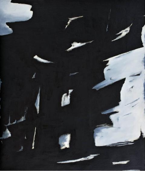 Franco Viola 2021  Appia II, 2013, Olio su tela, 130x110 cm