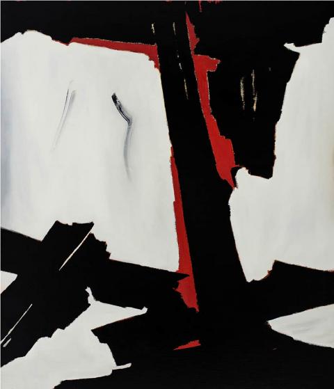 Franco Viola 2021 Cadenza, 2013, Olio su tela, 130x110 cm