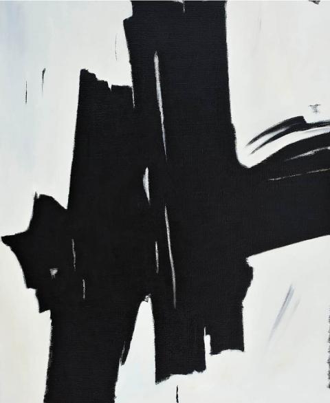 Franco Viola 2021 Impeto, 2015, Olio su tela, 110x90 cm