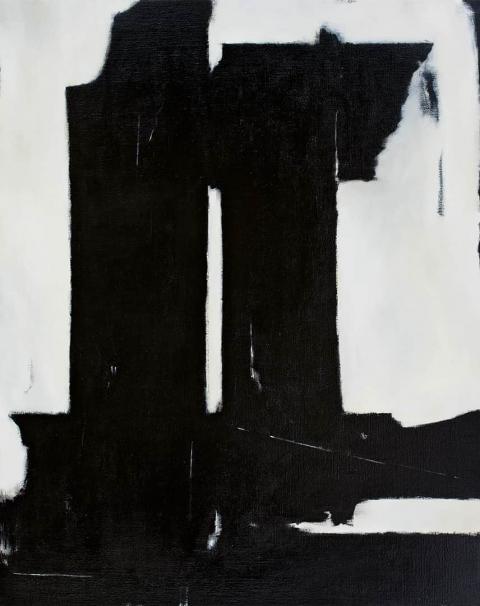 Franco Viola 2021 Metafora, 2011, Olio su tela, 100x80 cm