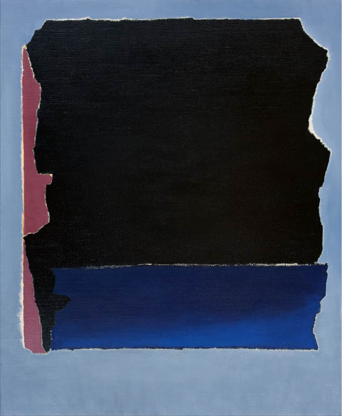 Franco Viola 2021 Oltre I, 2019, olio su tela, 110x90 cm