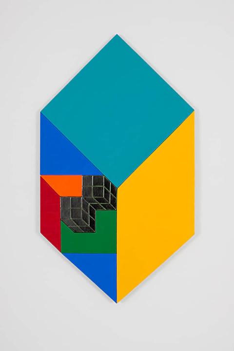 Жанна Грак 2021 Three-dimensional Flatness 003