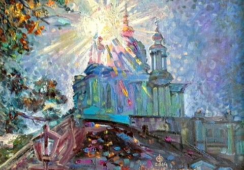 Філіпп Чорнобров 2021 Сонячні дзвони в Андріївській церкві