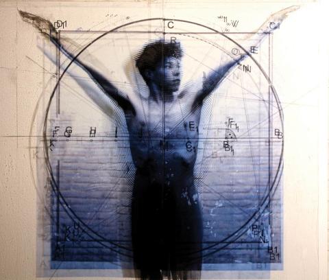 Ulrike Bolenz 2021 The Vitruvian Man